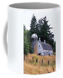 Old Barn In Field Coffee Mug