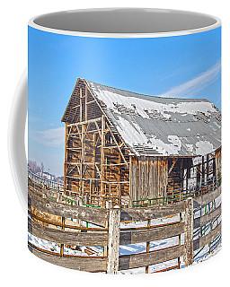 Old Barn In Idaho Coffee Mug