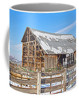 Old Barn In Idaho Coffee Mug