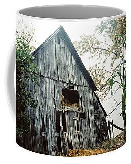 Old Barn In The Morning Mist Coffee Mug