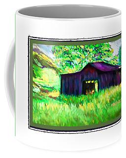 Old Barn New Grass Coffee Mug