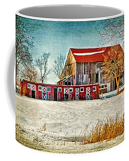 Old Barn On Forrest Road Coffee Mug