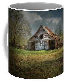 Old Barn With Tin Roof Coffee Mug