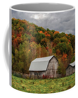 Old Barns Of Beauty In Ohio  Coffee Mug