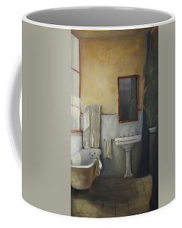Old Bathtub Coffee Mug by Diane DiMaria