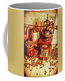 Old Bean Mill Decor. Kitchen Art Coffee Mug