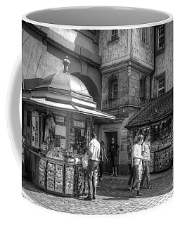 Coffee Mug featuring the photograph Old Bernese Kiosks by Michelle Meenawong
