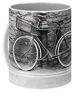 Old Bicycle Coffee Mug by Helen Northcott