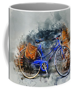 Old Bicycle Coffee Mug