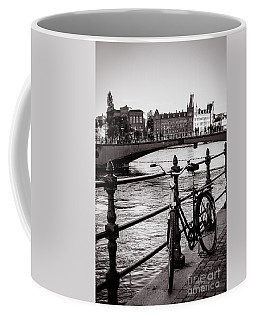 Old Bicycle In Central Stockholm Coffee Mug