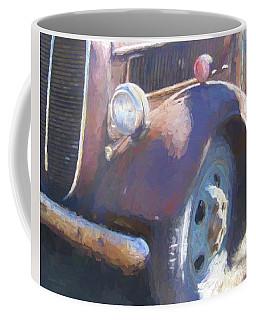 Old Blue Wheel Coffee Mug