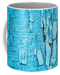 Old Blue Wood Coffee Mug