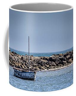 Old Boat - Half Moon Bay Coffee Mug