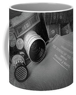 Old Books And Cameras Coffee Mug