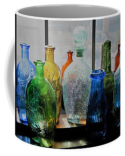 Coffee Mug featuring the photograph Old Bottles by John Scates