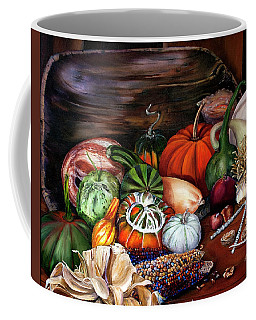Old Bowl Cornucopia Coffee Mug