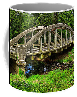 Coffee Mug featuring the photograph Old Bridge Central Virginia by Melissa Messick