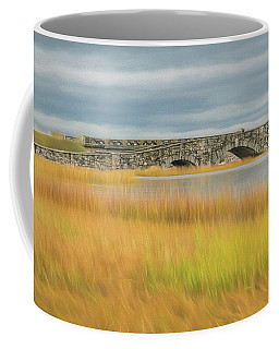 Old Bridge In Autumn Coffee Mug