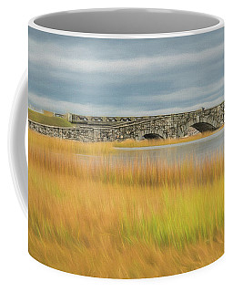 Old Bridge In Autumn Coffee Mug