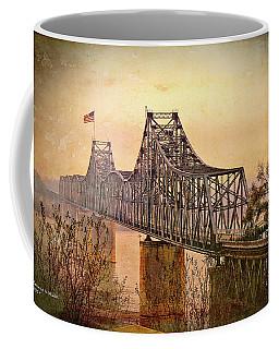 Coffee Mug featuring the photograph Old Bridge Of Vicksberg, Ms by Bonnie Willis