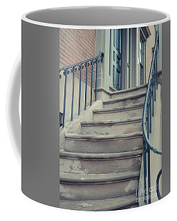 Old Brownstone Staircase Coffee Mug