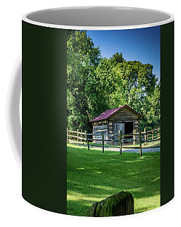 Coffee Mug featuring the photograph Old Building - The Hermitage by James L Bartlett