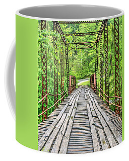 Old Burnt Mill Bridge Coffee Mug by Myrna Bradshaw