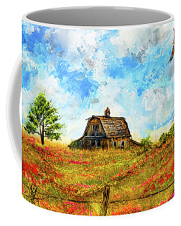 Old But Stately -old Barn Artwork Coffee Mug