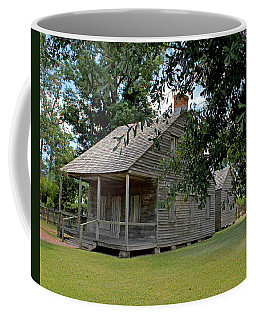 Coffee Mug featuring the photograph Old Cajun Home by Judy Vincent