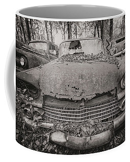 Old Car City In Black And White Coffee Mug