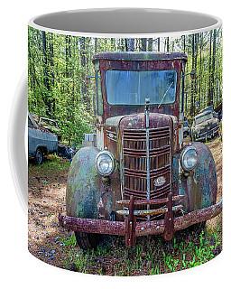 Old Car Smile Coffee Mug