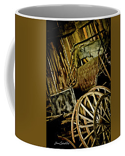 Coffee Mug featuring the photograph Old Carriage by Joann Copeland-Paul
