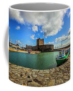 Old Carrickfergus Coffee Mug by Roy McPeak
