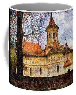 Old Church With Red Roof Coffee Mug