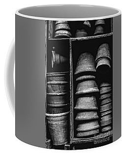 Coffee Mug featuring the photograph Old Clay Pots by Edward Fielding