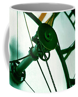 Coffee Mug featuring the photograph Old Clock Gears by Marilyn Hunt