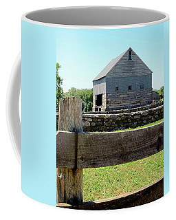 Old Connecticut Barn Coffee Mug