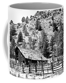 Old Corral And Barn Coffee Mug by Ansel Price