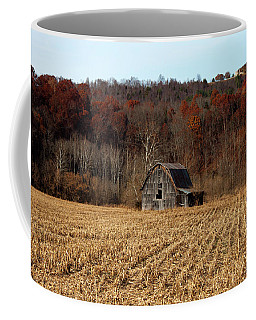 Old Country Barn In Autumn #1 Coffee Mug by Jeff Severson