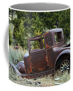 Old Coupe In Bad Condition Coffee Mug