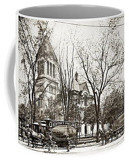 Old Courthouse Public Square Wilkes Barre Pa Late 1800s Coffee Mug