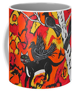 Old Crow Rodeo Coffee Mug