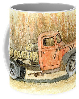Old Dodge Truck In Autumn Coffee Mug