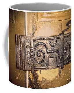 Old Door Lock Coffee Mug