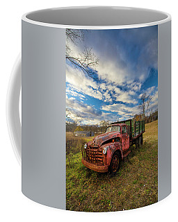 Old Duck Farm Truck Coffee Mug