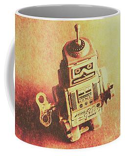 Old Electric Robot Coffee Mug