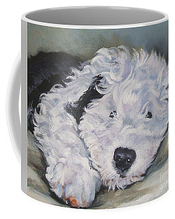 Old English Sheepdog Pup Coffee Mug