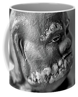 Old Face, Statue Coffee Mug