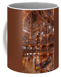 Old Faithful Lodge Coffee Mug by Steve Gadomski