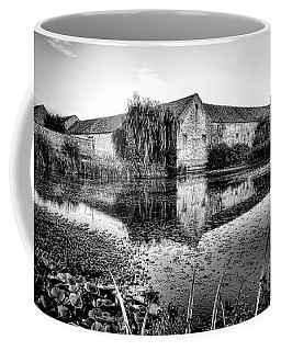 Old Farm And Pond In France Coffee Mug